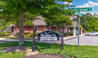 Community Signage, The Summits, 2