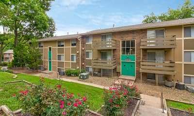 Building, Timberline Apartments, 1
