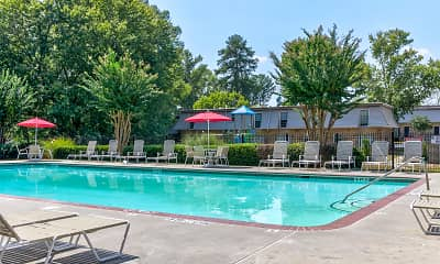 Pool, Laurel Pointe Apartments, 0