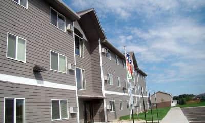 Building, Roosevelt Estates, 1