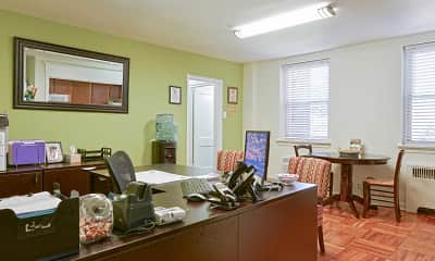 Leasing Office, The Mayfair, 1