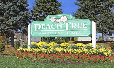 Community Signage, Peachtree Apartments, 2