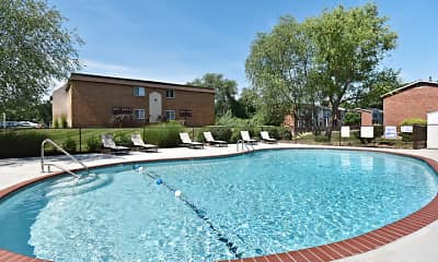 Pool, Tuscany Village Apartments, 2