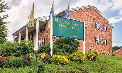 Community Signage, Heritage Court, 2