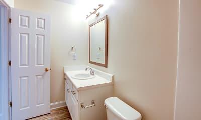 Bathroom, Pine Ridge Apartments, 2
