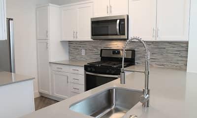 Kitchen, Charleston Court, 1