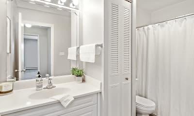 Bathroom, Lakeside Apartments, 2