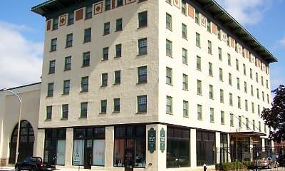 Building, Drake Plaza, 0