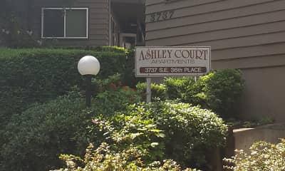 Community Signage, Ashley Court, 2