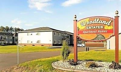 Community Signage, Woodland Estates, 0