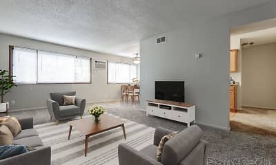Living Room, Nevada Apartments, 0