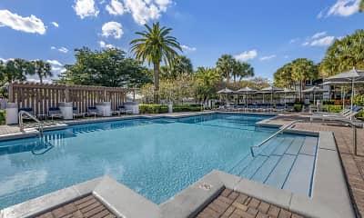 Pool, Kings Colony Apartments, 0