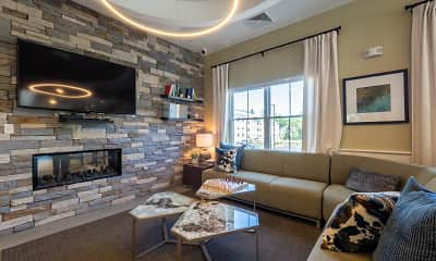 Living Room, The Residences at Executive Park, 1