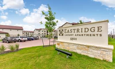Community Signage, Eastridge Apartments, 2
