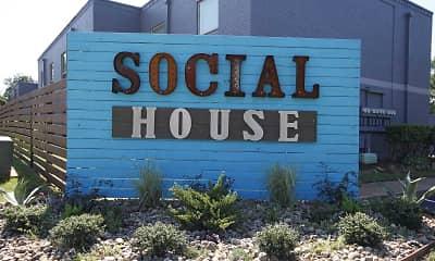 Community Signage, Social House, 0