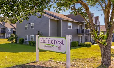 Community Signage, Fieldcrest Apartments, 2