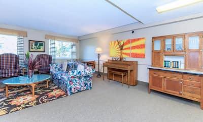 Living Room, Paradise Gardens Apartments, 1