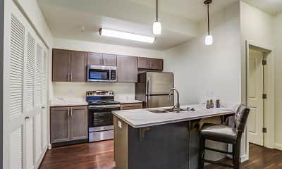 Kitchen, Haven Park Apartments, 2