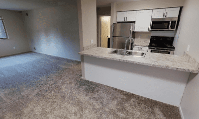 Kitchen, Timber Lake Apartments, 2