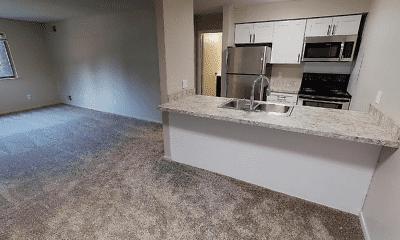 Kitchen, Timber Lake Apartments, 2