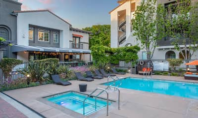 Pool, River Terrace, 1