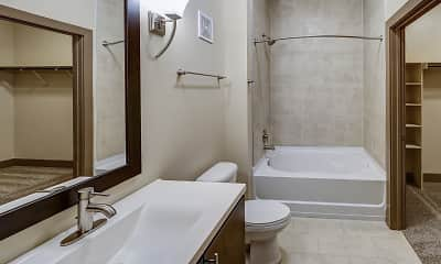 Bathroom, Mezz 42, 2