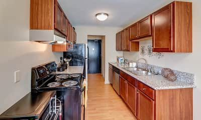 Kitchen, West End Apartments, 0