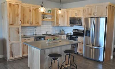 Kitchen, Skaff Apartments - Fargo, 0