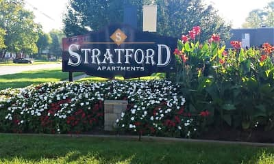 Community Signage, Stratford Apartments, 2