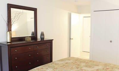 Bedroom, Sherri Park Apartments, 2