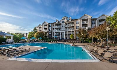 Pool, River Crossing At Keystone Apartments, 0