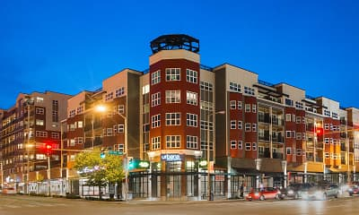 Building, Urbana Apartments, 0