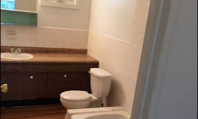 Bathroom, The Carriage House Apartments, 1