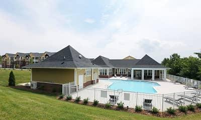 Pool, Avalon at Sweeten Creek Apartments, 2