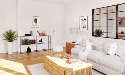 Living Room, Jasontown Apartments, 0