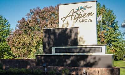 Community Signage, Aspen Grove, 0