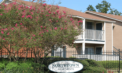 Community Signage, Northtown Apartments, 2
