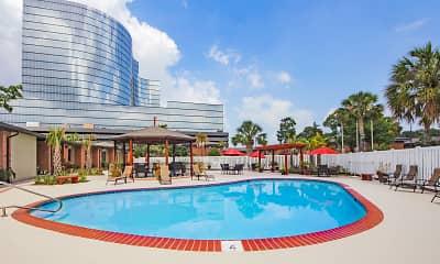 Pool, Gatehouse Apartments, 1