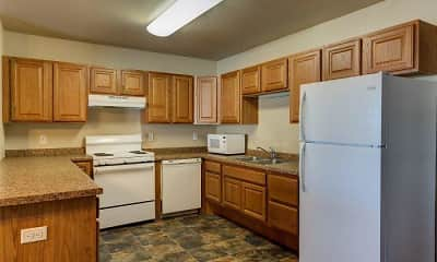 Kitchen, Tioga Apartments, 1