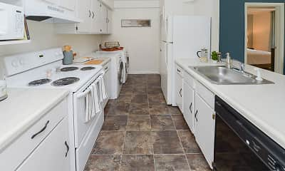Kitchen, The Landings Apartment Homes, 1
