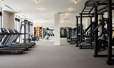 Fitness Weight Room, The Agnes, 2