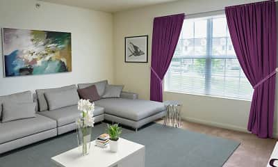 Living Room, Cortland Estates, 1