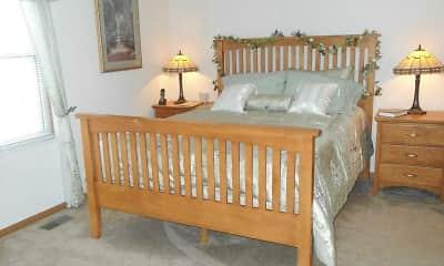 Bedroom, Creekside Townhomes / Cherryhill, 2