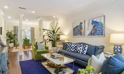 Living Room, Gables Montclair, 0