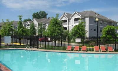 Pool, Woodwind Villa Apartments, 0
