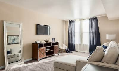 Living Room, Century City Apartments, 1