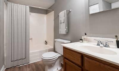 Bathroom, Villas at Garden Way, 2