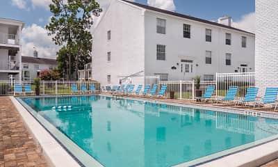 Pool, Williamsburg Village Apartments, 0