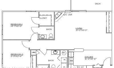 Blue Heron Ponds Apartments, 0