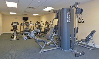 Fitness Weight Room, Fox Run, 2